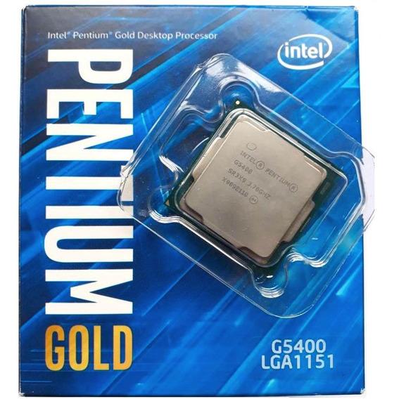 Processador Intel G5400 Pentium Gold Cpu 3.7ghz 8ª Geração