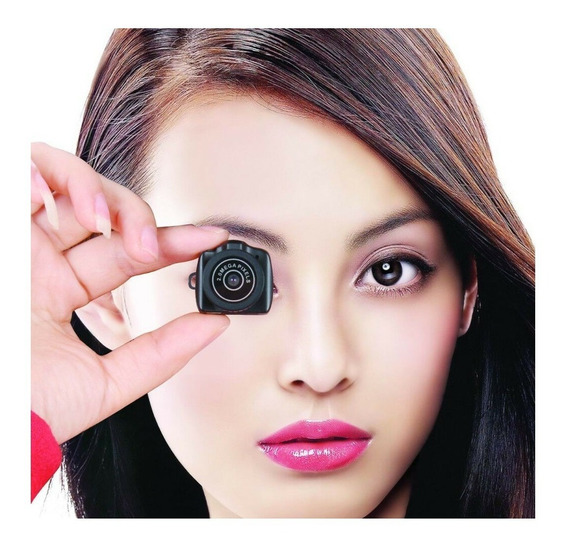 Mini Camera Hd Micro Camera Espiã Tira Fotos Grava Videos Audio Digital Perfeita