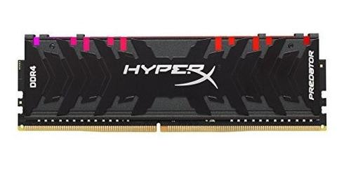 Memoria Ram Hyperx Predator Ddr4 Rgb Kit Cl16 Dimm Xmp