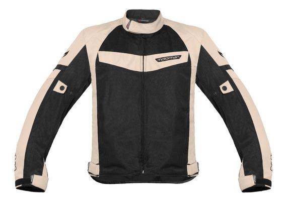 Campera Moto Protecciones Impermeable Motorman Evo Air