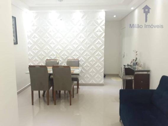 Apartamento 3 Dormitórios À Venda, 67m², Condomínio Upper Life, Pq. Campolim Em Sorocaba/sp - Ap1187