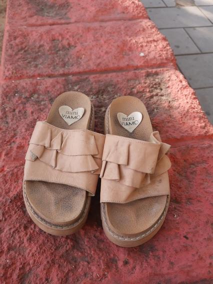 Sandalias Mini Viamo Muy Poco Uso