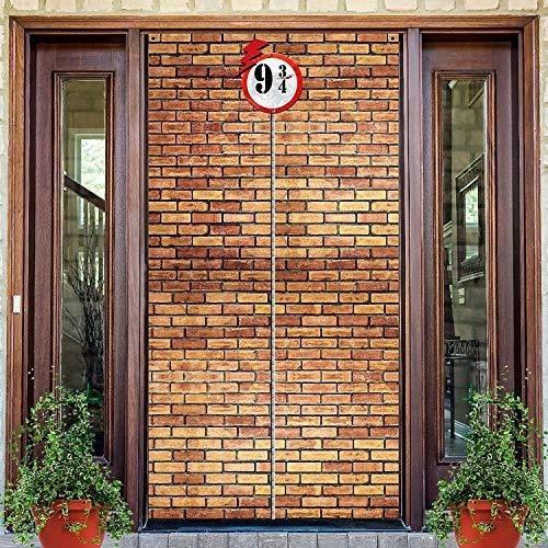 Imagen 1 de 8 de Telon De Fondo De Pared De Ladrillo 9 Y 3/4 Estacion Cruza