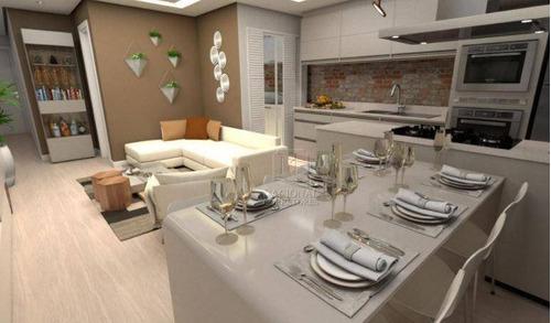 Apartamento Com 2 Dormitórios À Venda, 85 M² Por R$ 490.000,00 - Vila Bastos - Santo André/sp - Ap10938