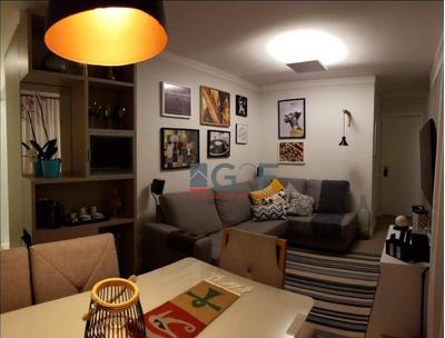 Apartamento Com 3 Dormitórios À Venda, 64 M² - Loteamento Parque São Martinho - Campinas/sp - Ap7944