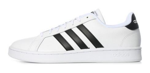 Tenis adidas Grand Court F36392 Blanco Hombre #25.5 Al #28