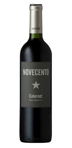 Imagen 1 de 1 de Vino tinto Cabernet sauvignon Novecento bodega D. Robino 750ml