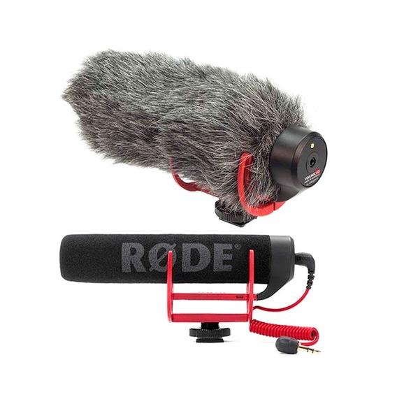 Microfone Direcional Rode Videomic Go+deadcat (original)