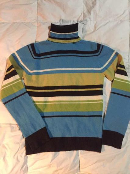 Sweater Polera De Lana Basement
