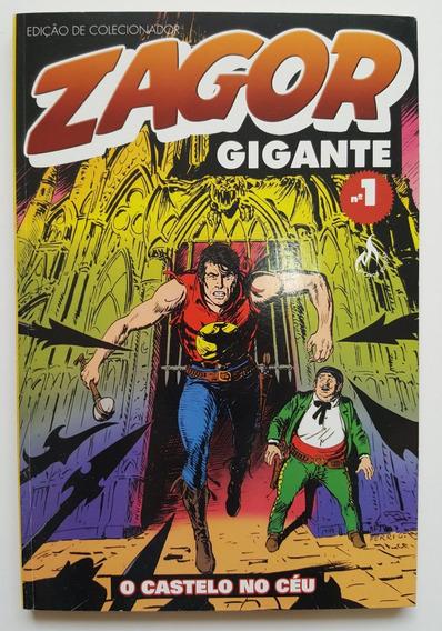 Zagor Gigante 1 O Castelo No Céu Editora Mythos