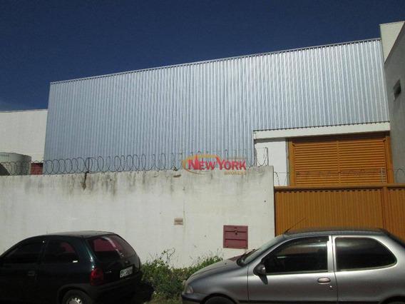 Barracão Comercial Para Locação, Jardim São Paulo, São Carlos. - Ba0009