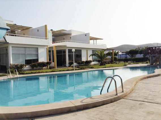 Casa De Playa - Condominio Sol De Asia, Chocalla Km 92.5