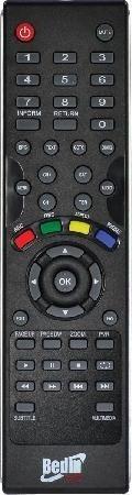 Controle Remoto Original Para Receptor Bedin Sat Bs9000