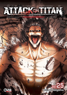 Manga, Kodansha, Attack On Titan Vol. 25 Ovni Press