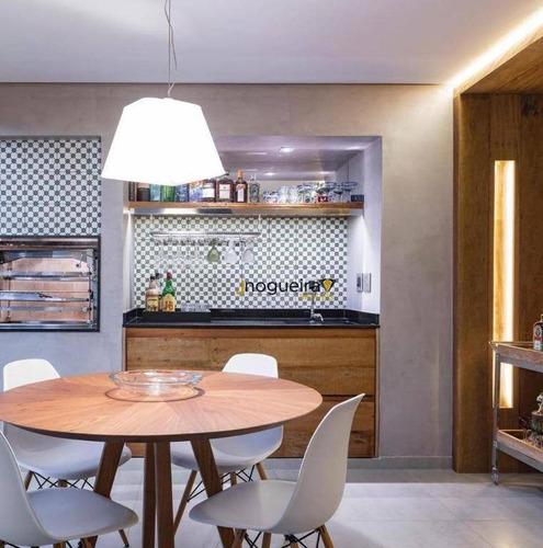 Apartamento Com 3 Dormitórios À Venda, 198 M² Por R$ 3.000.000,00 - Brooklin - São Paulo/sp - Ap15580