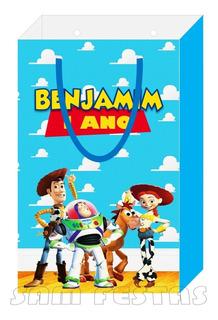 Kit Toy Story Sacola, Marmitinha, Latinha (30 De Cada)