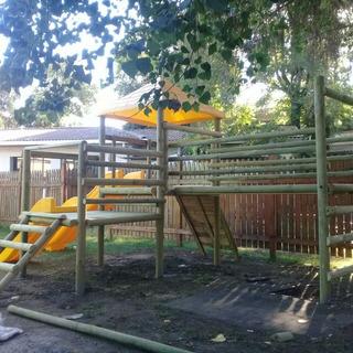 Juegos Infantiles De Madera Para Jardin en Mercado Libre Chile