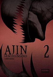 Ajin (semihumano) 2; Gamon Sakur. Envío Gratis 25 Días