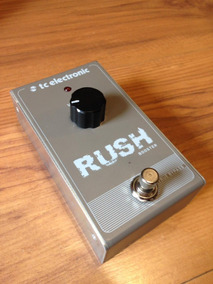 Pedal Tc Electronic Rush Booster Clean Boost
