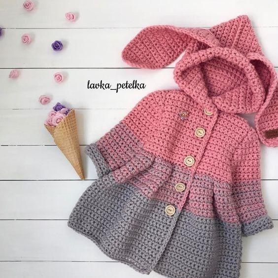 Tapados Crochet Bebe De 0 A 6 Meses
