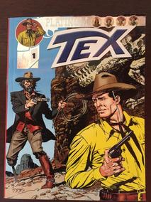 Tex Platinum N° 1 - O Caçador De Fósseis - Ed.mythos