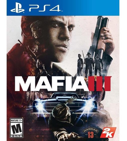 Mafia 3 - Ps4 Code 1 Envio Já