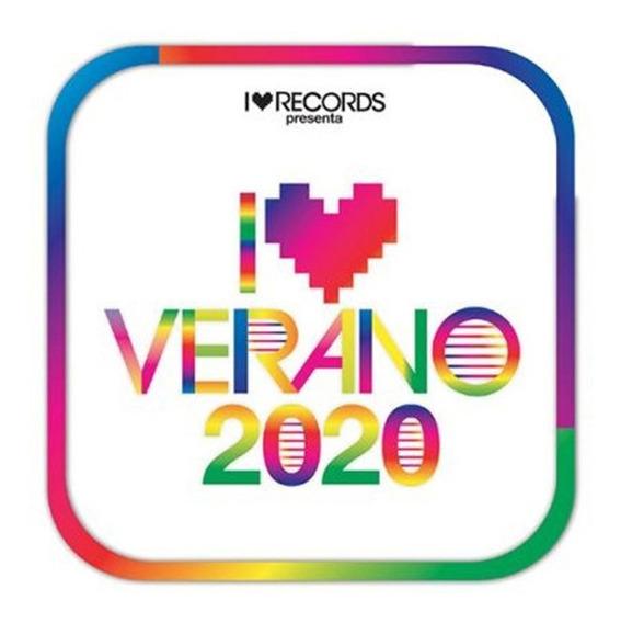 Cd I Love Verano 2020 Interpretes Varios
