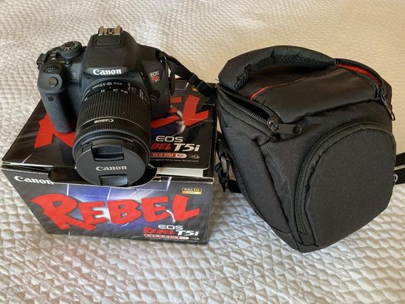 Câmera Canon T5i + Lente 50mm + Acessórios