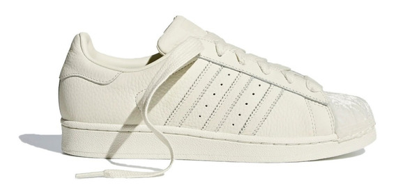 adidas Original Zapatillas Mujer Superstar W Beige Fkr