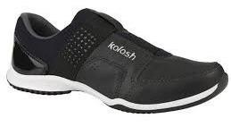 Tênis De Couro Confortável Kolosh C0781 Preto Lindo Lançamen
