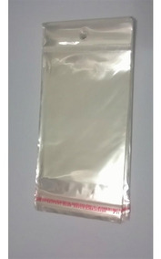 Saquinhos Plástico 12x18 Cmc/furo+ Aba Adesiva 100un