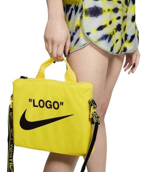 Bolsa Nike X Off White Shoulder Bag Cross Body