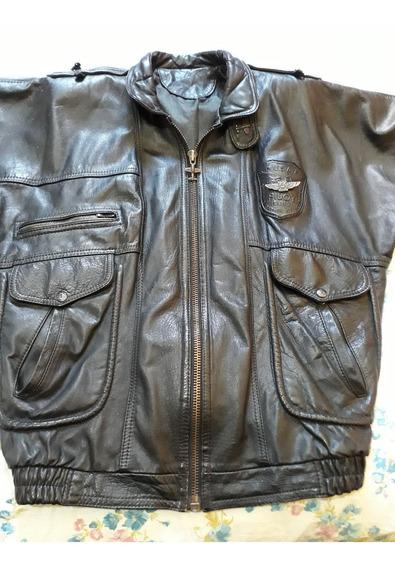 Chaqueta Para Caballero De Cuero Leather Usa (usada) 65$