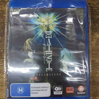 Death Note La Serie+ovas Completa Blu Ray Latino