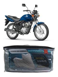 Capa Para Cobrir Honda Cg 150 Titan Es Mix Com Forro P(201)