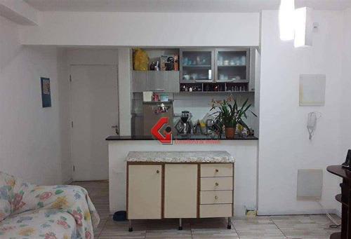 Apartamento Com 3 Dormitórios À Venda, 73 M² Por R$ 420.000 - Jardim - Santo André/sp - Ap3203
