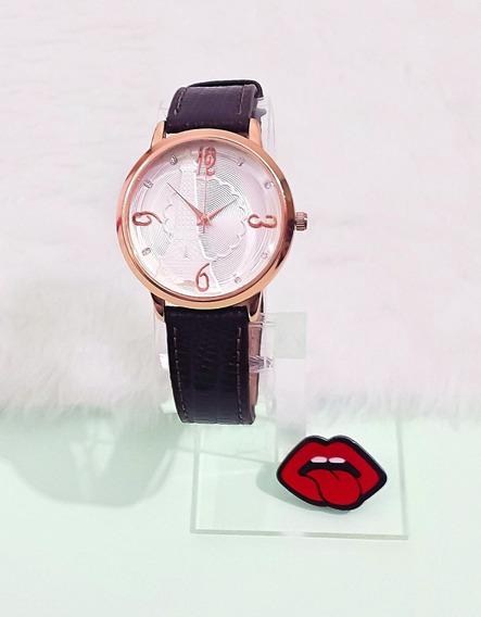 Relógio Feminino Rose Gold Barato Atacado Promoção