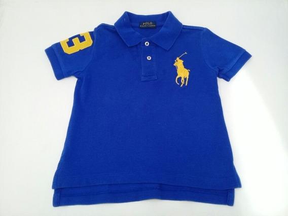Camisa Polo Ralph Lauren Azul Marino Niño. La Segunda Bazar