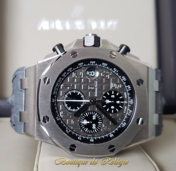 Relogio Modelo Cronograph Grey Elephant - 42mm