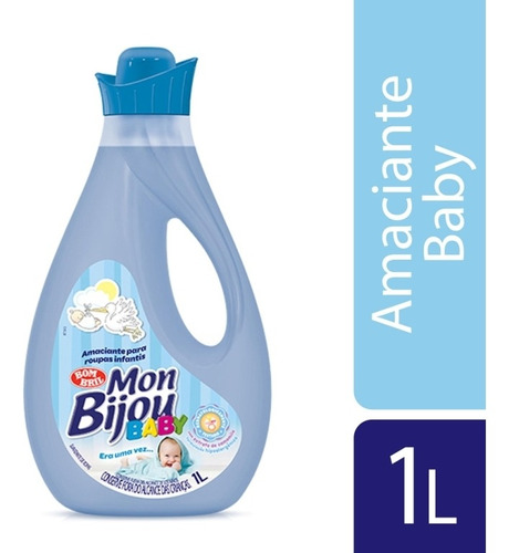 Amaciante Mon Bijou Baby Era Uma Vez 1l