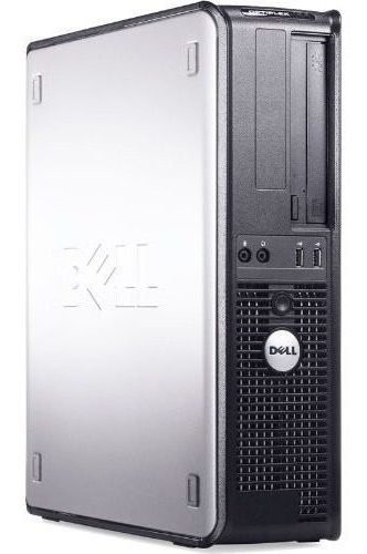 Cpu Dell Quad Core 8gb Ddr3 Hd 500 + Monitor 17 Win 10
