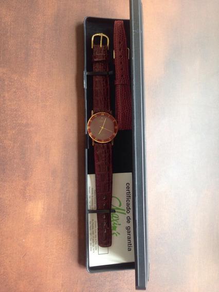 Relógio Maxims Quartz Original 2 Pulseiras De Couro
