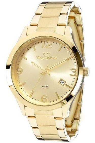 Relógio Technos Feminino Elegance Dourado Original Garantia
