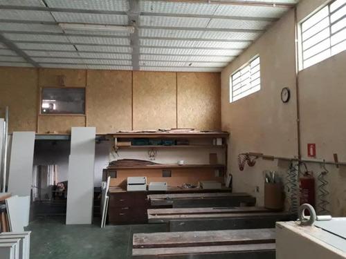 Galpão Para Locação Em Taboão Da Serra, Cidade Intercap, 1 Banheiro, 3 Vagas - Ga0017_1-1059104