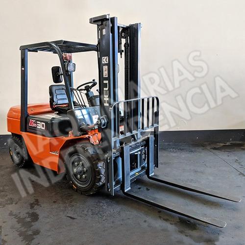 Autoelevador Heli 3000 Kg Diesel Cpcd30 Nuevo 0 Km