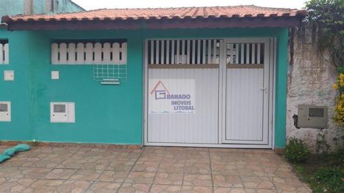 Imagem 1 de 15 de Casa Para Venda Em Itanhaém, Balneário Santista, 2 Dormitórios, 1 Suíte, 1 Banheiro, 2 Vagas - 528_1-1122078