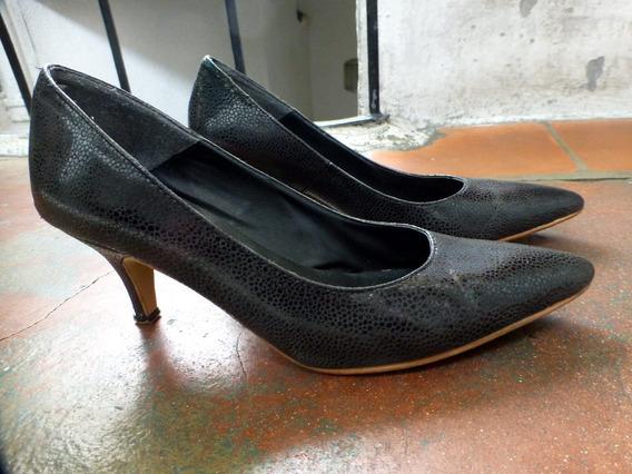 Zapatos De Cuero Nazaria Numero 37