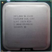 Processador Intel Dual-core E5200 2mb Cache 2,50ghz