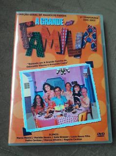 Dvd A Grande Familia - 3° Temporada Completa Viva - 6 Dvds