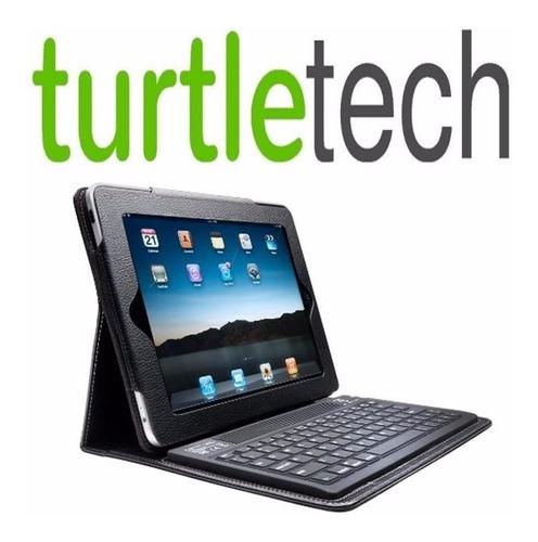 Funda Teclado Bluetooh Piel Sintetica iPad,2,3,4 Mega Oferta
